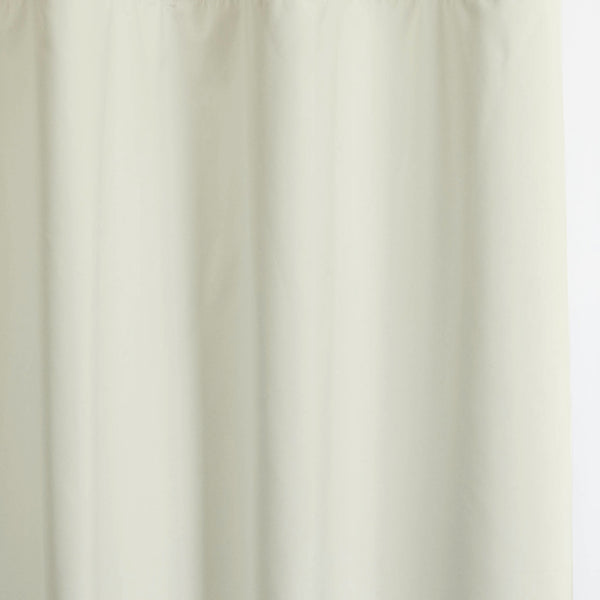 Solid - Smooth Finish 100% Blackout - Bone White -extra long curtains - drapery - Loft Curtains