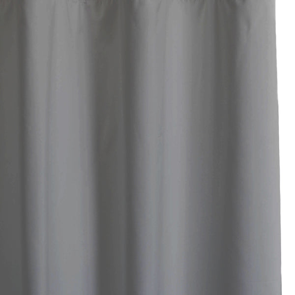Solid - Smooth Finish 100% Blackout - Concrete Gray -extra long curtains - drapery - Loft Curtains