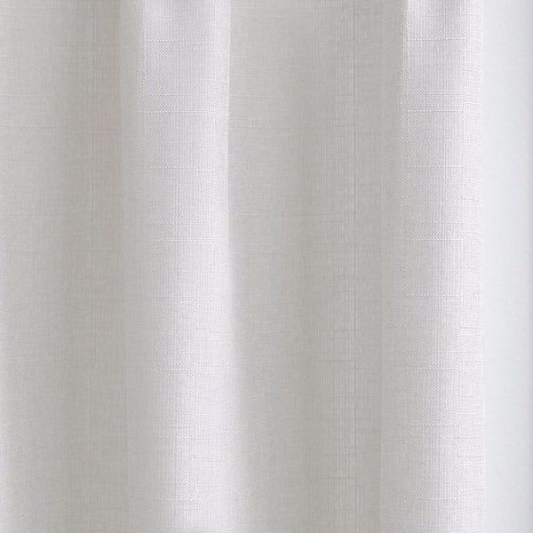 CANVAS - Cotton blend cross weave curtains - Off-White -extra long curtains - drapery - Loft Curtains