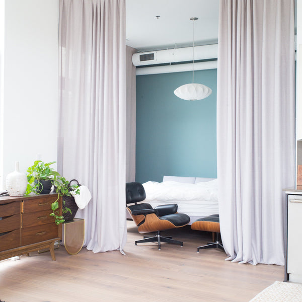 CANVAS Collection, cotton extra long curtain panels, room divider ...
