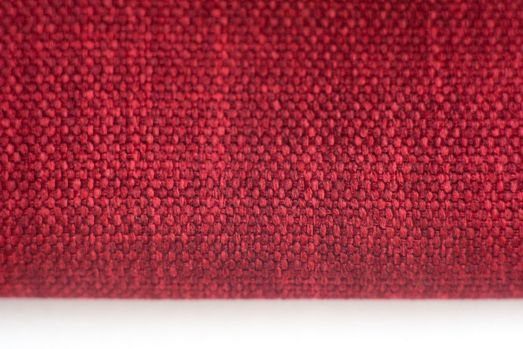 MOOD - Textured blackout medium weight curtains - Scarlet -extra long curtains - drapery - Loft Curtains