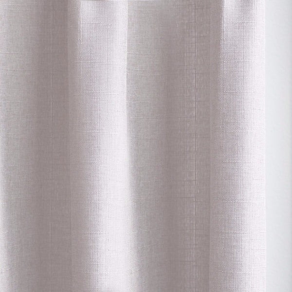 CANVAS - Cotton blend cross weave curtains - Taupe -extra long curtains - drapery - Loft Curtains