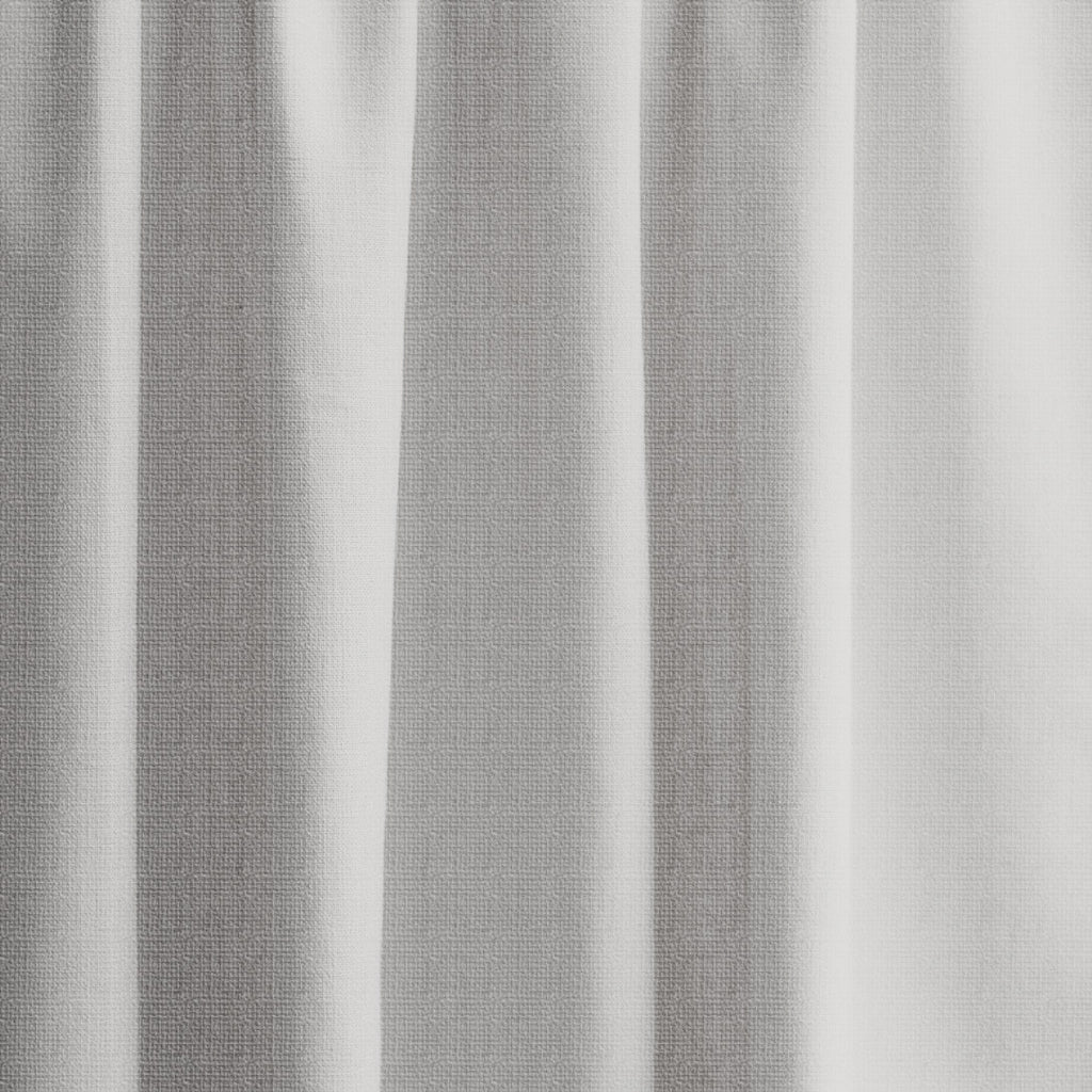 Extra Long Textured Blackout Curtain Custom Made Length In Light Gray Loft Curtains