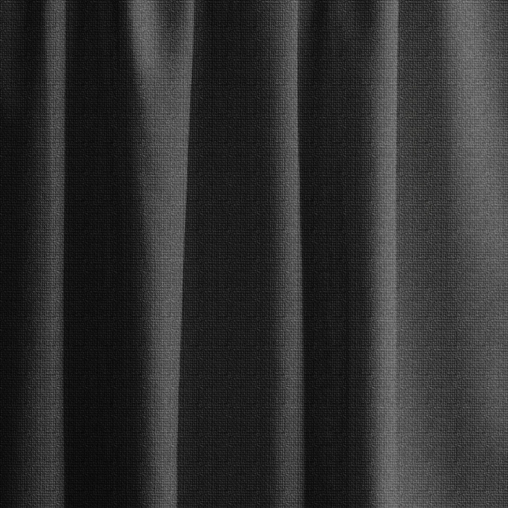 Extra long textured blackout curtain, custom made in almost black ... for Black Curtains Texture  75tgx