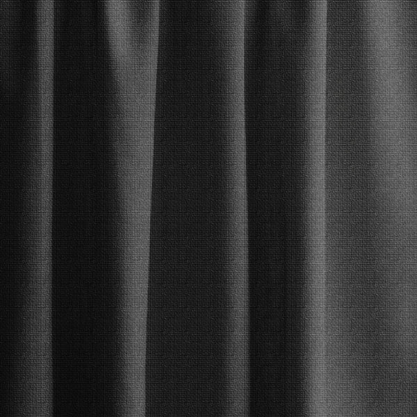 Extra Long Textured Blackout Curtain Custom Made In