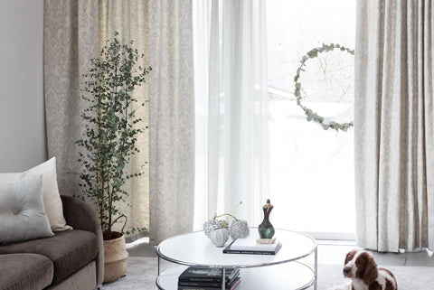 valencia-floral-pattern-custom-curtains-gray-linen