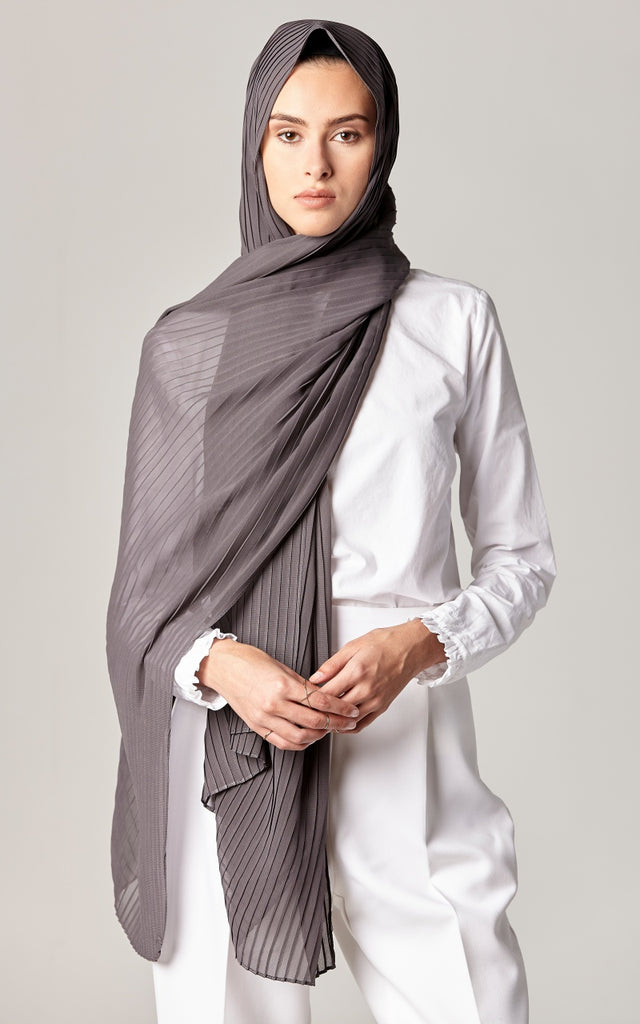 ASH  Pleated Chiffon