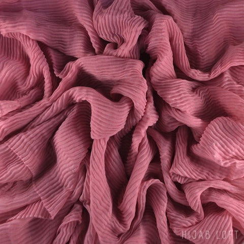 ROSE  Pleated Viscose