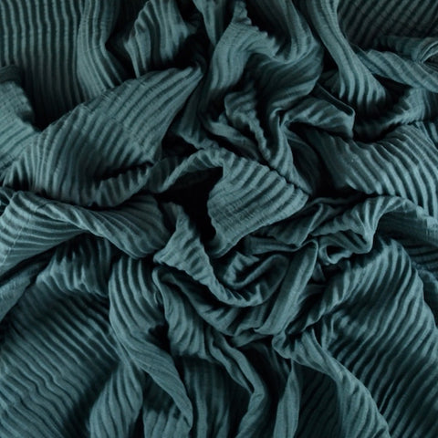 VIRIDIAN GREEN  Premium Pleated
