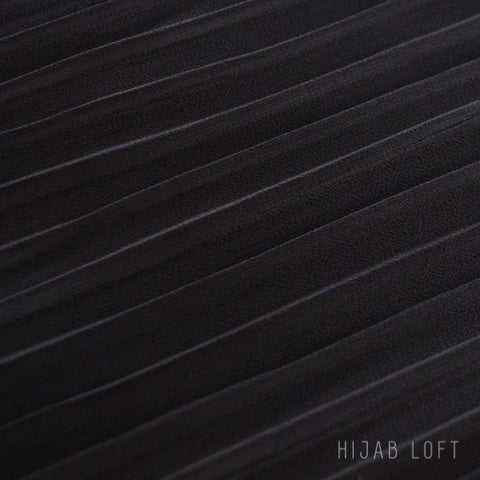 ONYX  Pleated Chiffon