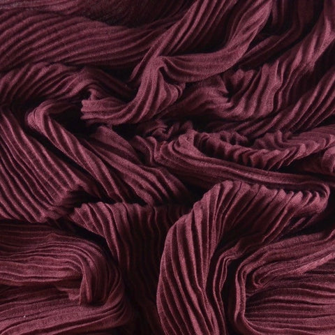 Zinfandel  Pleated Viscose