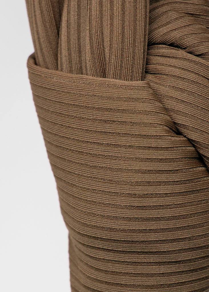 HAZELNUT  Ribbed Jersey