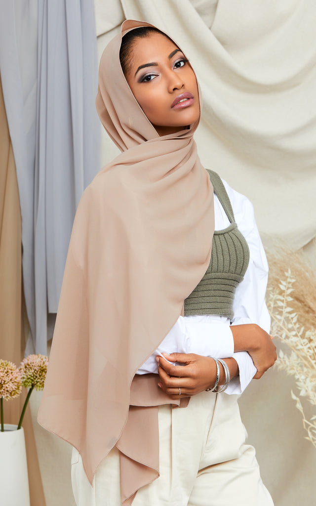 LIGHT TAUPE  Chiffon