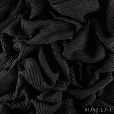ONYX  Pleated Viscose