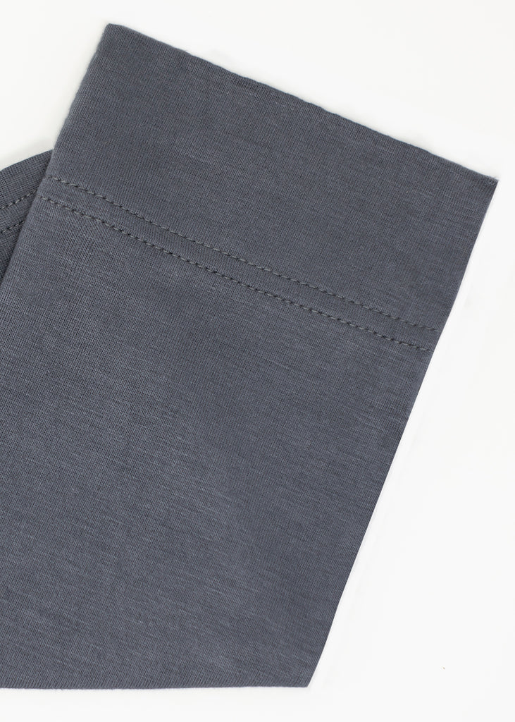 Cotton Under Scarf Slate Gray