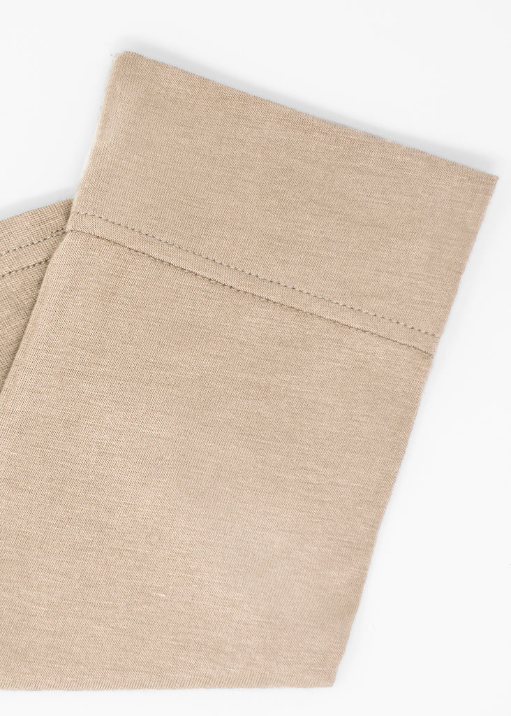 Cotton Under Scarf Taupe