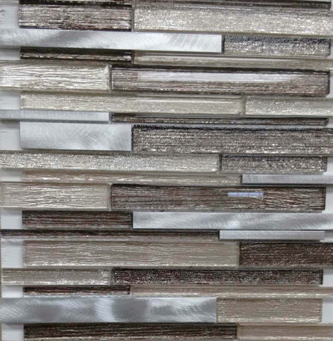 AL4103 - Metallic Fabric Brick Series - Veranda Tile & Decor