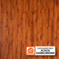 "Acacia Samba Brown - Commercial Dry Back (6"" X 48"") - 31.97 Sq.ft/Carton - <h2>$3.01 sf </h2> <h4>FREE SHIPPING</h4> - Veranda Tile & Decor"