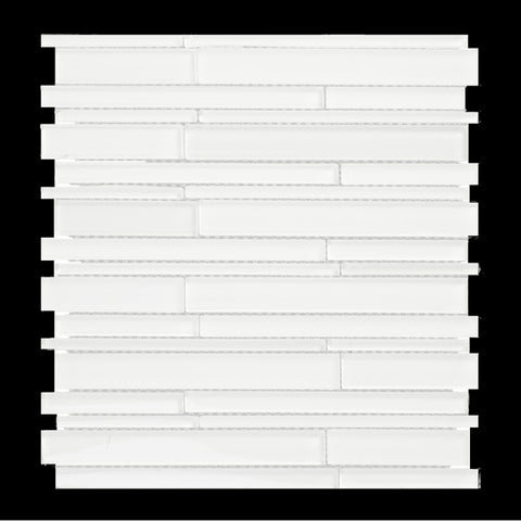 GLAK500 - White - Glass Tile - Veranda Tile & Decor