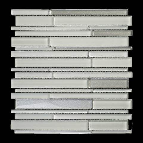 GLAK510 - Ice Grey - Glass Tile - Veranda Tile & Decor