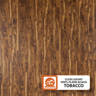 "Acacia Tobacco - Luxury Vinyl Plank Click (7""X48"") - 18.91 Sq.ft/Carton - <h2>$2.79 sf </h2> <h4>FREE SHIPPING</h4> - Veranda Tile & Decor"
