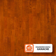 "Ganache - 5"" X 3/8"" Engineered Maple (Smooth) - 29.52 Sq.ft/Carton - <h2>$4.23 sf </h2> <h4>FREE SHIPPING</h4> - Veranda Tile & Decor"