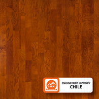"Chile - 5"" X 3/8"" Engineered Hickory (Smooth) - 29.52 Sq.ft/Carton - <h2>$4.23 sf </h2> <h4>FREE SHIPPING</h4> - Veranda Tile & Decor"
