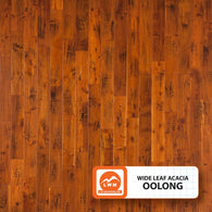 "Oolong - 5"" X 3/8"" Engineered Wide Leaf Acacia (Hand-Scraped) - 49.76 Sq.ft/Carton - <h2>$3.94 sf </h2> <h4>FREE SHIPPING</h4> - Veranda Tile & Decor"