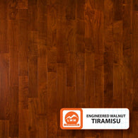 "Tiramisu - 5"" X 3/8"" Engineered Walnut (Smooth) - 29.52 Sq.ft/Carton - <h2>$4.53 sf </h2> <h4>FREE SHIPPING</h4> - Veranda Tile & Decor"