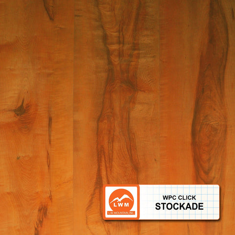 "Stockade - LWWPCSTOC - Click Wood Plastic Composites (7"" X 48"") - 18.91 Sq.ft/Carton - <h2>$3.59 sf </h2> <h4>FREE SHIPPING</h4> - Veranda Tile & Decor"