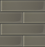 "GLAK320 - Cashmere 3""x12"" Glass Subway Tile - Veranda Tile & Decor"