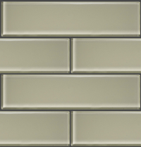 "GLAK330 - Sandbar 3""x12"" Glass Subway Tile - Veranda Tile & Decor"