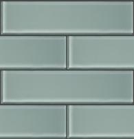 "GLAK350 - Spa Blue 3""x12"" Glass Subway Tile - Veranda Tile & Decor"