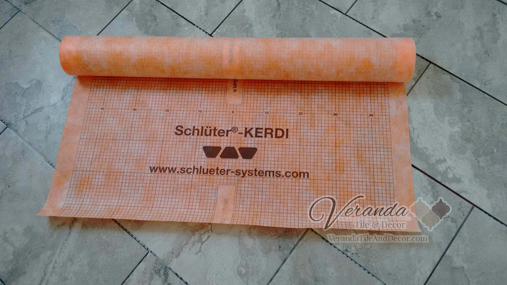 Schluter - Kerdi 200/5M - Kerdi Waterproofing Membrane  </h2> <h4>FREE SHIPPING</h4>  54 sq ft roll - Veranda Tile & Decor