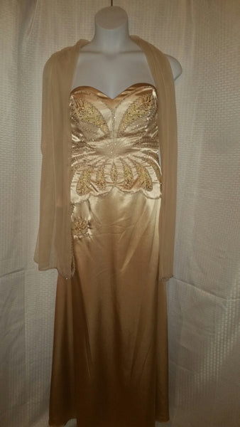Marsoni Gold Evening Gown