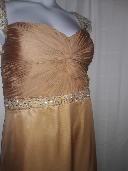 Annabelle Gold Gown