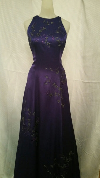 Evening Gown - Purple