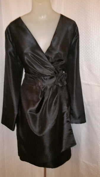 Victoria NY Black Dress Size 10