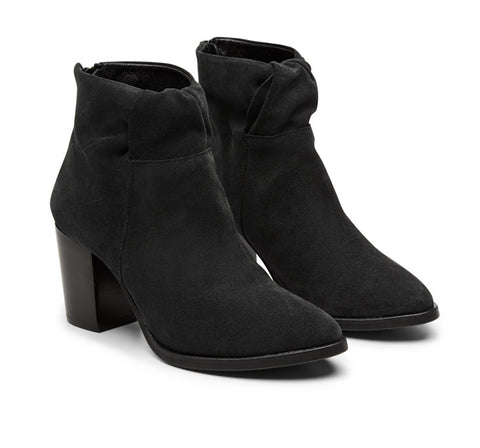 Billy Suede Heel Boot