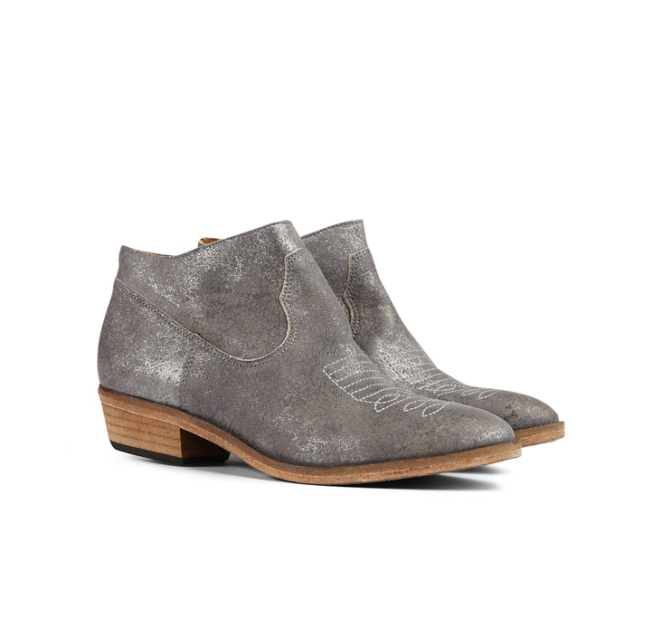 Dusk Ankle Boot Metallic