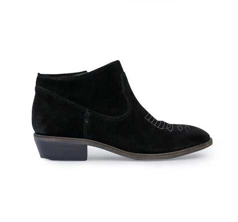 Charlotte Suede Pull On Boot