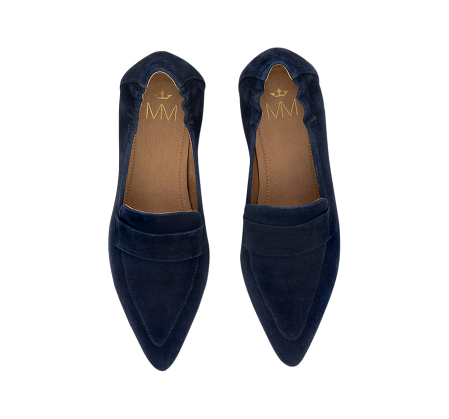 Mia Suede Loafer