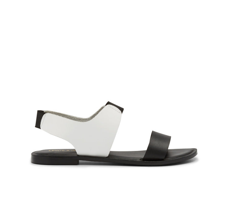 Isabel leather slip on sandal