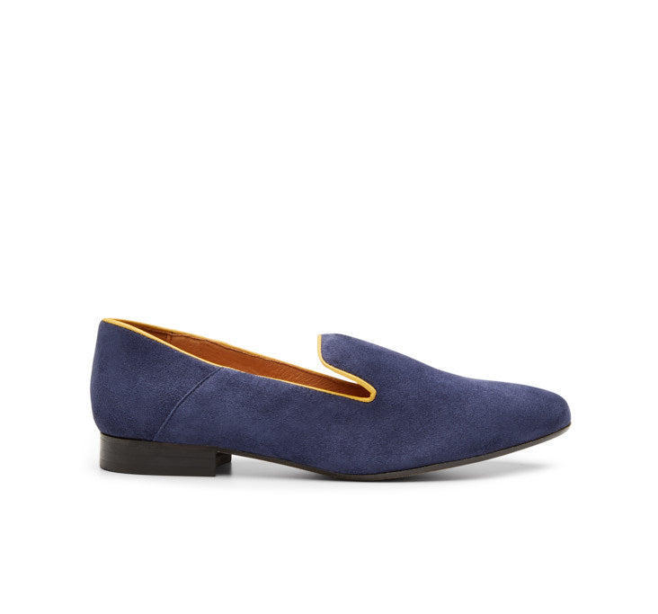 Marie suede loafer
