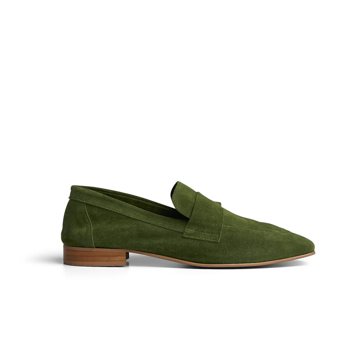 Kelly Soft Suede Loafer