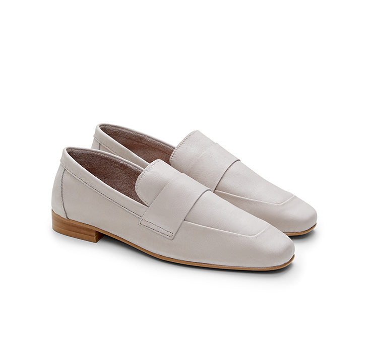 Kelly Panneled leather Loafer