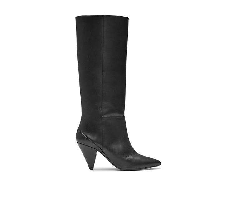 Ursula Leather Knee high Boot