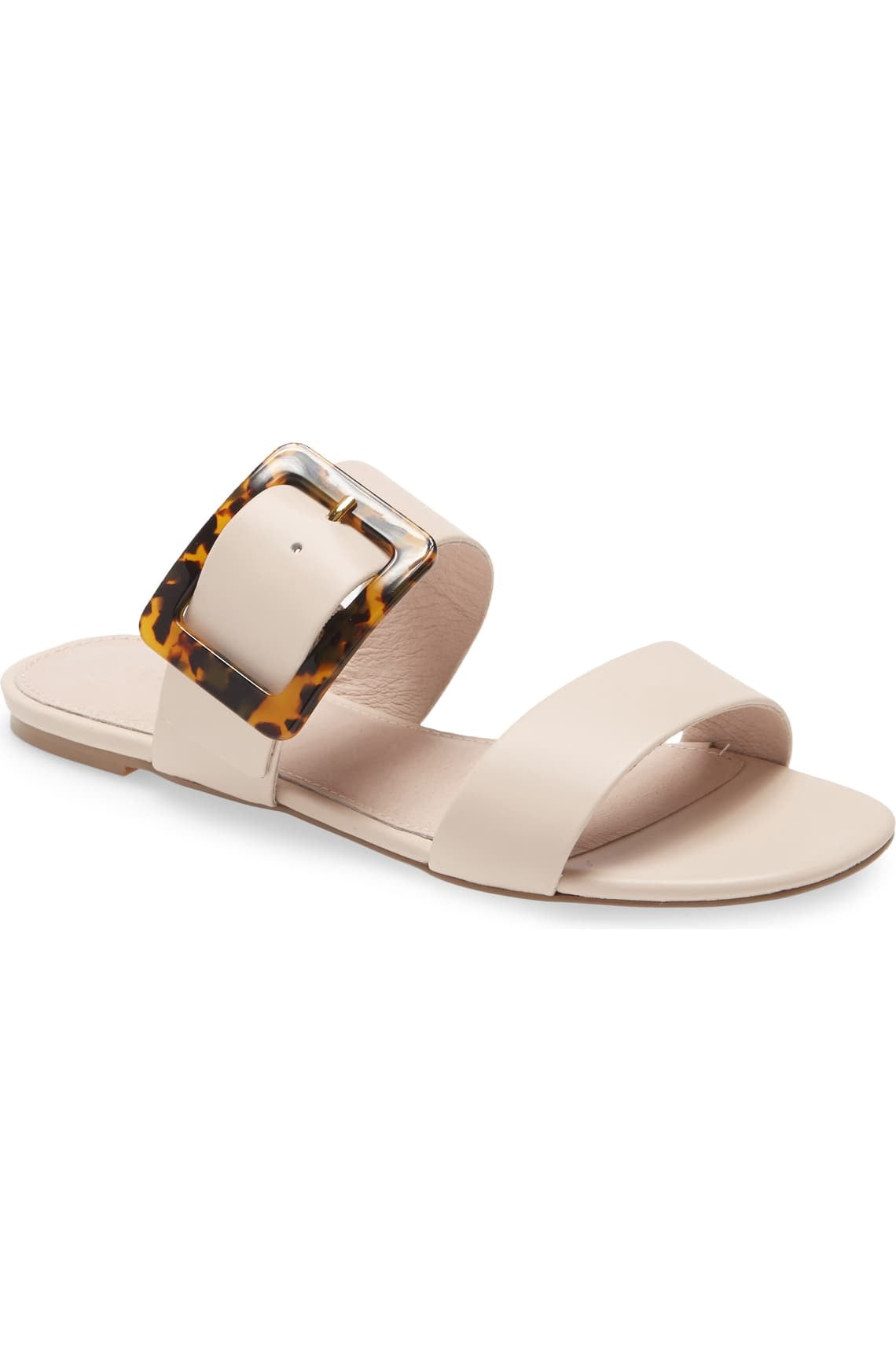 Bone Sandal w/ Buckle