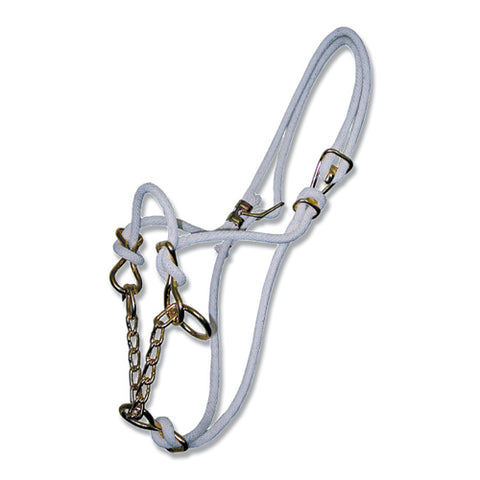 Hackamore Halter - Cotton Rope