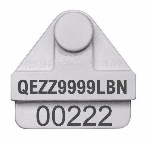 Leadertronic NLIS Cattle Tags (SA Levy)